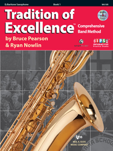 Tradition of Excellence Bk. 1 for Bari Sax