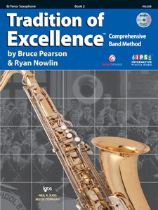 Tradition of Excellence Bk. 2 Tenor Sax