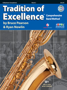Tradition of Excellence Bk. 2 Baritone Sax