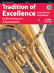 Tradition of Excellence Treble Clef Baritone Bk. 1
