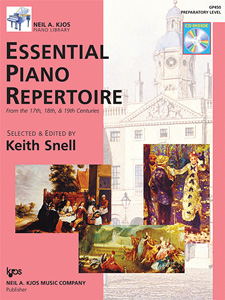Essential Piano Repertoire Prep Level w/CD