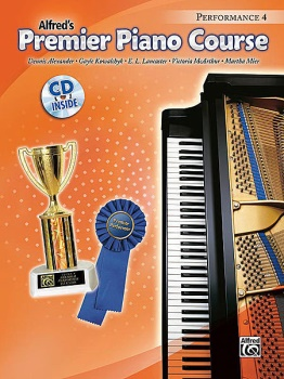 Alfred's Premier Piano Course Performance, Book 4 w/CD