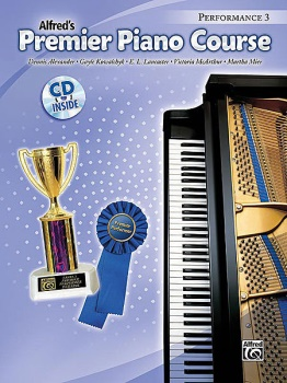 Alfred's Premier Piano Course Performance, Book 3 w/CD