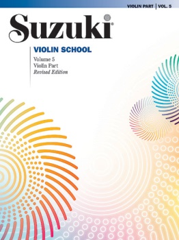 Suzuki Violin School, Volume 5 - Violin Part (Revised)