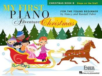 My First Piano Adventures Christmas Book B