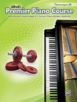 Alfred's Premier Piano Course Technique 2B Book Only