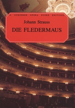 Die Fledermaus Vocal Score Paperback English
