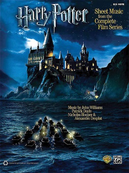 Harry Potter -- Sheet Music from the Complete Film Series Big Note Piano
