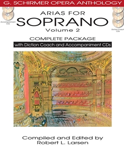 Arias for Soprano, Volume 2 - Complete Package with Diction Coach and Accompaniment CDs