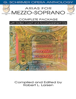 Arias for Mezzo-Soprano - Complete Package with Diction Coach and Accompaniment CDs