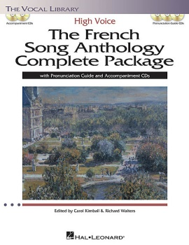 The French Song Anthology High Voice Complete Package - High Voice