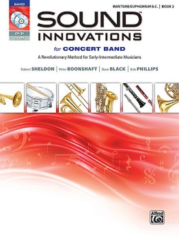 Sound Innovations for Concert Band, Book 2 Baritone BC