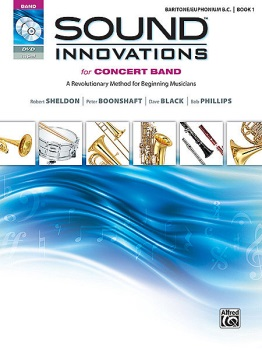 Sound Innovations for Concert Band, Book 1 (Baritone B.C.)