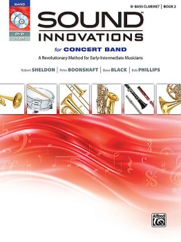 Sound Innovations for Concert Band, Book 2 Bass Clarinet