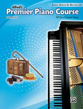 Alfred's Premier Piano Course Jazz, Rags & Blues, Book 2A