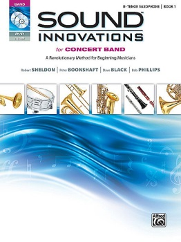 Sound Innovations for Concert Band, Book 1 (Tenor Saxophone)
