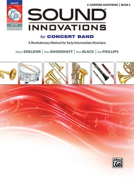 Sound Innovations for Concert Band, Book 2 Bari Sax