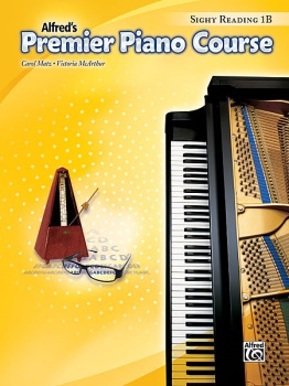 Alfred's Premier Piano Course Sightreading 1B