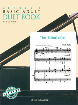 Alfred's Basic Piano Adult Duet Book Book1 1P4H