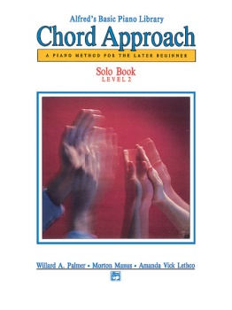 Alfred's Basic Piano Library Chord Approach Solo Book 2