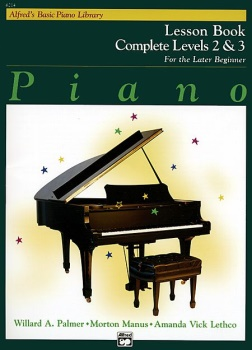 Alfred's Basic Piano Library Complete Lesson Book 2&3