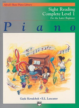 Alfred's Basic Piano Library Complete Sight Reading 1