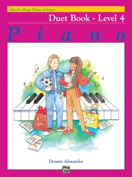 Alfred's Basic Piano Library Duet 4 1P4H