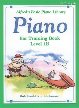 Alfred's Basic Piano Library Ear Training Book 1B