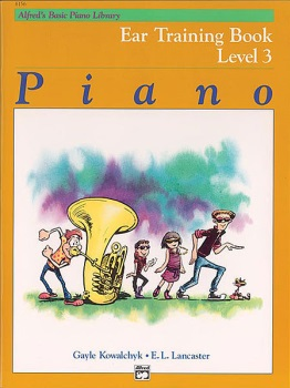 Alfred's Basic Piano Library Ear Training Book 3