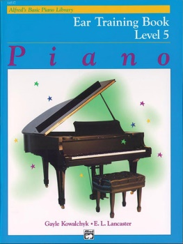 Alfred's Basic Piano Library Ear Training 5