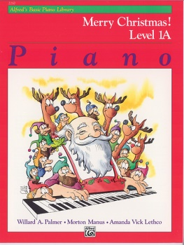 Alfred's Basic Piano Library Merry Christmas Level 1A