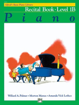 Alfred's Basic Piano Library Recital Book 1B
