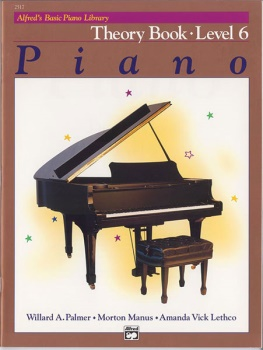 Alfred's Basic Piano Library Theory Book 6