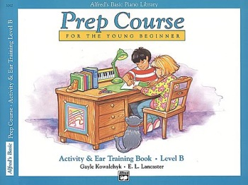 Alfred's Prep Course - Activity & Ear Training Book (Level B)