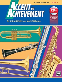 Accent On Achievement Tenor Sax Bk.1