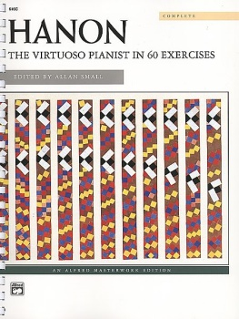 The Virtuoso Pianist in 60 Exercises - Complete (Spiral-Bound)