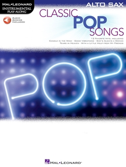 Classic Pop Songs for Alto Sax