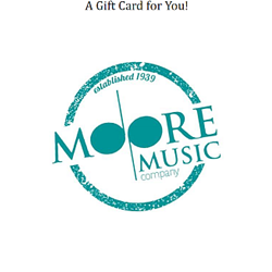 Moore Music GC Gift Cards