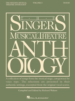 The Singer's Musical Theatre Anthology Tenor Vol. 3