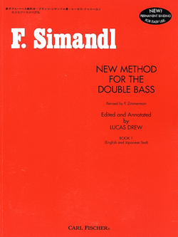 New Method For The Double Bass Bk.1